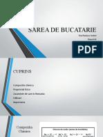 PROIECT SAREA DE BUCATARIE