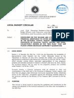 DBM Local Budget Circular 136