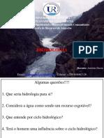 Hidrologia AULA1