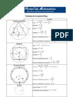 Formulas Geometria Plana