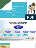Cátedras y proyectos pedagógicos obligatorios transversales - MEN