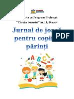 Jurnal de Joaca Pentru Copii Si Parinti Propunere Judetul Brasov Compressed