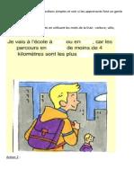 Un Geste Positif Pour Lenvironnement Activites Ludiques Comprehension Orale Exercice Gr 48286
