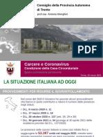 I dati del carcere di Trento