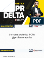 Semana profética PCPR Delta - Geilza Diniz