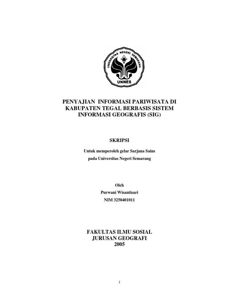 Contoh Proposal Penelitian Geografi Pdf