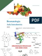 Bromatologia_Nutricao_Aula Introdutoria_2020