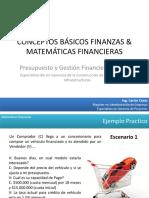 2.1 CONCEPTOS BÁSICOS FINANZAS & MATEMÁTICAS FINANCIERAS 2016 PARTE 2 (1)