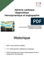 Cathétérisme diagnostique