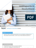 GER C2.0201S Popular Places in Germany