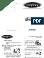 Fesler H.I.D. Conversion Kit Installation Instructions