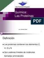 Química Las Proteinas