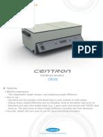 CB220 E-Brochure Balanza Doble Plato