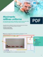 Exploração do movimento retilíneo uniforme (pdf)