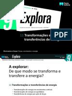 Transformações e transferências de energia