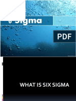 WHAT IS SIX SIGMA