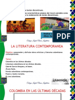 GRADO OCTAVO LA LITERATURA CONTEMPORANEA