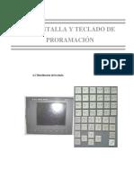 Pantalla Y Teclado (Cap. 4) - Centro De Mecanizado