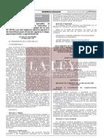 Decreto Supremo Que Aprueba El Reglamento de Negociacion Col Decreto Supremo n 006 2021 Tr 1939453 4 Unlocked