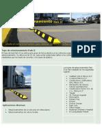 INSTALACION DE TOPES DE PARQUEO