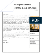 Discover the Love of Christapril2021.Publication1