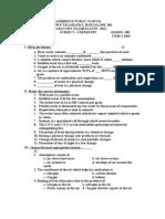Preparatory Vi Chemistry