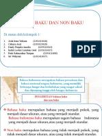 PPT Bahasa Indonesia Kelompok 1
