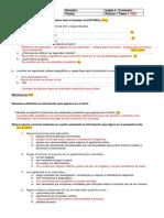 Inglés I_P1 CLAVE DE CORRECCIÓN