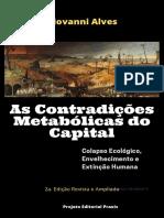 AS CONTRADIÇÕES METABÓLICAS DO CAPITAL 2edicao