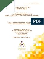 PDF Toma de posesión de Fr. NOÉ DEL TORO, SPGG 2021