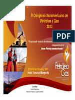 Dossier Informativo del II Congreso Suramericano de Petróleo y Gas 2013