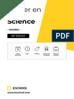 KSchool_26ed_Master_en_Data_Science_Madrid
