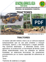 11.1 Tractor for. Orugas