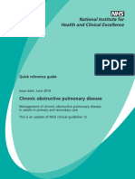 Nice COPD guidelines