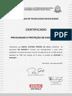 Marco Certificado