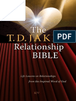 The T.D. Jakes Relationship Bible Life Lessons on Relationships From the Inspired Word of God