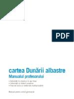 Dunarea 1 Cartea Dunarii albastre pt profesori