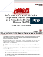 a - Single Fund Analysis Score as a RAPM
