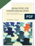 Murray Stein El Principio de Individuacion..