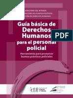 Guía básica de Derechos Humanos para personal policial