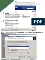 Config serveur Windows 2003 Server