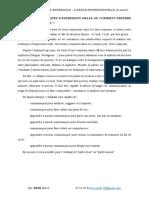 Cours techniques d'expression oral LP3