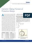 testing numarical relay