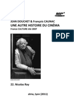 DOUCHET, Jean & François CAUNAC • Une autre histoire du cinéma (France Culture, 2007) • 22. Nicholas Ray (+mp3)