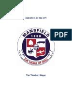 Mayor Tim Theaker's 2020 State of the City address