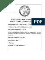 Programa  Filosofía de la educación Prof Cifelli_0