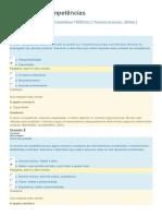 ENAP - Gestão Por Competências - Exercicio de Fixação - Modulo 2