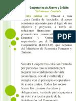 presentacion La Cooperativa de Ahorro y Crédito Talcahuano Limitada CORREGIDA
