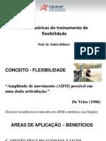 Aula 11 - Treinamento flexibilidade