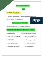 PFC 2021 Automatique